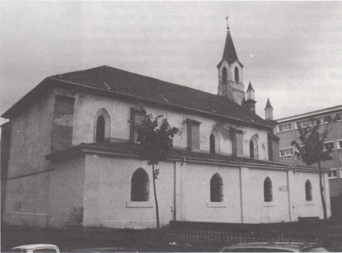 Fachada sur de la Iglesia