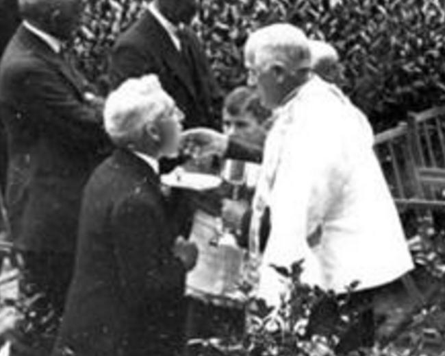 JJ de la Quintana hacia 1925