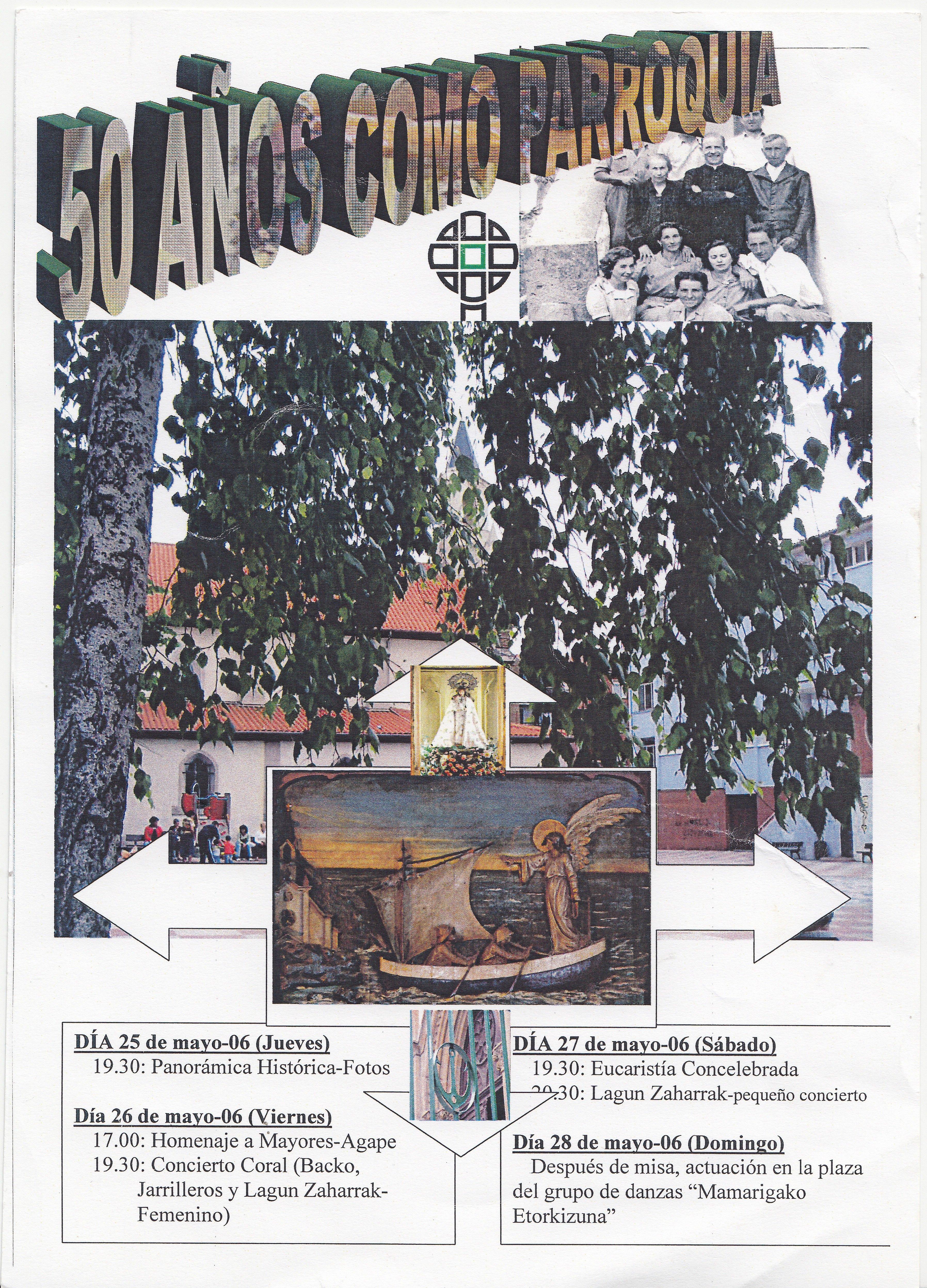 Parroquia Virgen del Mar 50 años