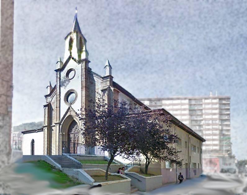 recreación de la iglesia virgen del mar