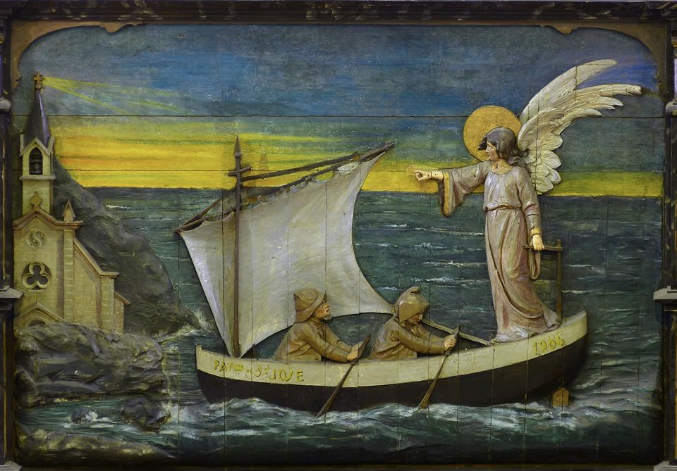 Relieve retablo Virgen del Mar-2