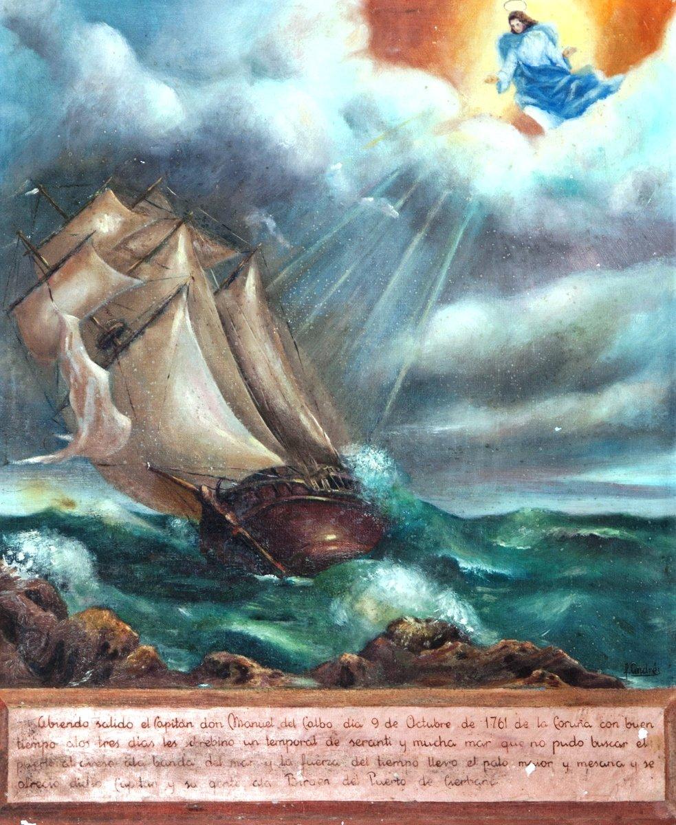 Cuadro barco Zierbena