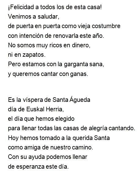 Letra Santa Agueda2