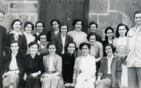 Coro de mujeres de Cabieces, en el centro Emilia Zuza
