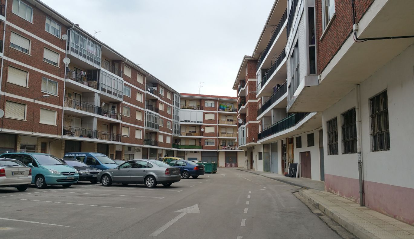 Vista de la calle santurce