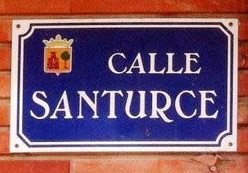 calle Santurce en Medina