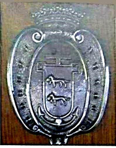 Escudo de Santurtzi en el Faro