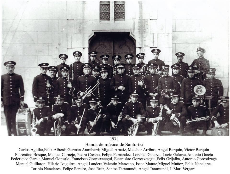 Banda de música 1931-2